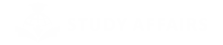 Study Affairs Logo White